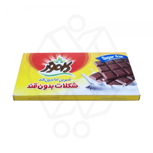 شکلات کاکائو تابلت بدون قند و رژیمی کامور 100گرم