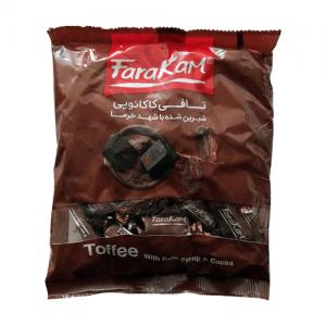 تافی کاکائویی شیرین شده با شهد خرما فراکام ۲۰۰ گرم