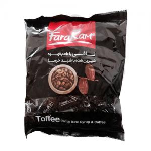 تافی قهوه شیرین شده با شهد خرما فراکام ۲۰۰ گرم