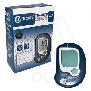 دستگاه تست قند خون کلور چک مدل TD-4230